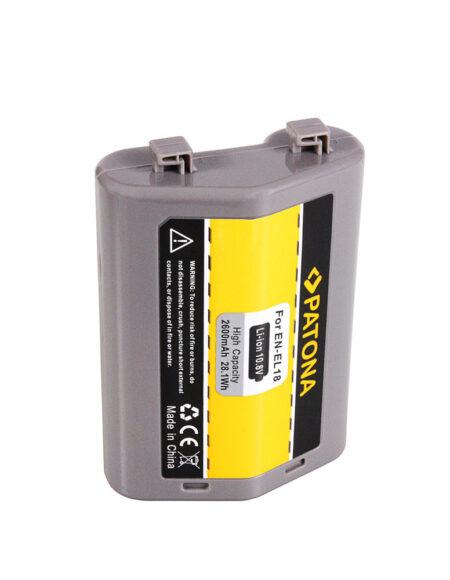 PATONA Battery for Nikon D4 D4S D5 D810 EN-EL18 ENEL18 Samsung A-Zellen 2600mAh mega kosovo kosova pristina prishtina