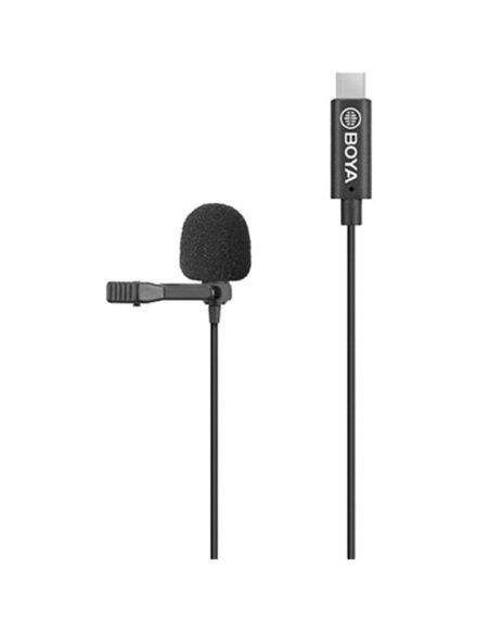 BOYA BY-M3 Digital Omnidirectional Lavalier Microphone with Detachable USB Type-C Cable mega kosovo kosova pristina prishtina