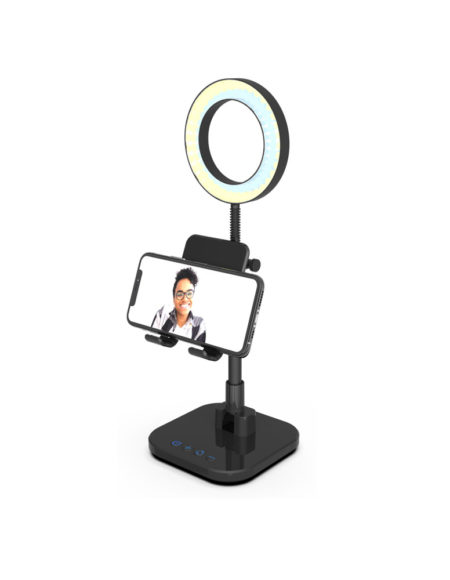 "Digipower Success Phone Holder with 6"" ring light mega kosovo kosova prishtina pristina skopje"